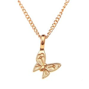 Jewelry - Enchanted Butterfly Choker Pendant Necklace
